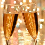 champange alla hjärtans dag present