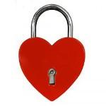 kärlekslås alla hjärtans dag present flickvän