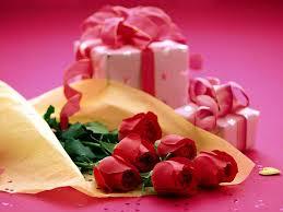 rosor present alla hjärtans dag